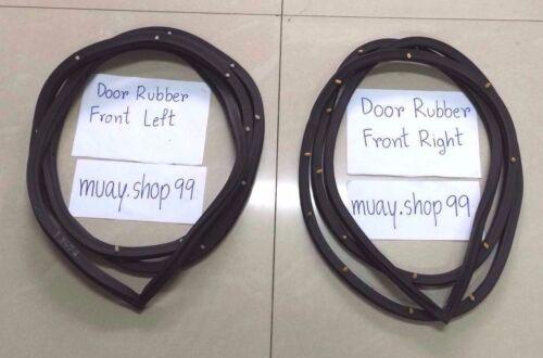 Weatherstrip Door Rubber Complete Seal Set FOR Mazda Pickup Magnum B2200 B2500