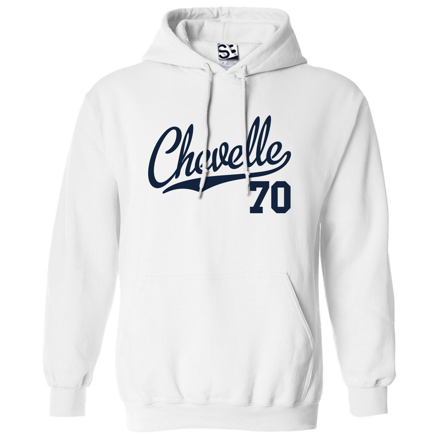 Chevelle 70 Script & Tail HOODIE - Hooded 1970 Muscle Car Sweatshirt All colors