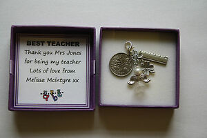 PERSONALISED-Lucky-Charm-Keepsake-for-TEACHER-Thank-You-Sixpence-GIFT-BOXED