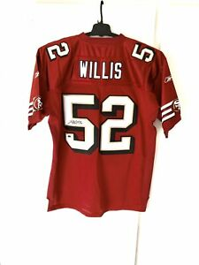 Details about Patrick Willis Signed Authentic Reebok 49ers Throwback Jersey PSA 2000s Auto