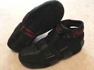 ebca656be53 Nike Lebron Zoom 20-5-5 Blk Red Brave King Sample Sz 9 Lebron Promo ...