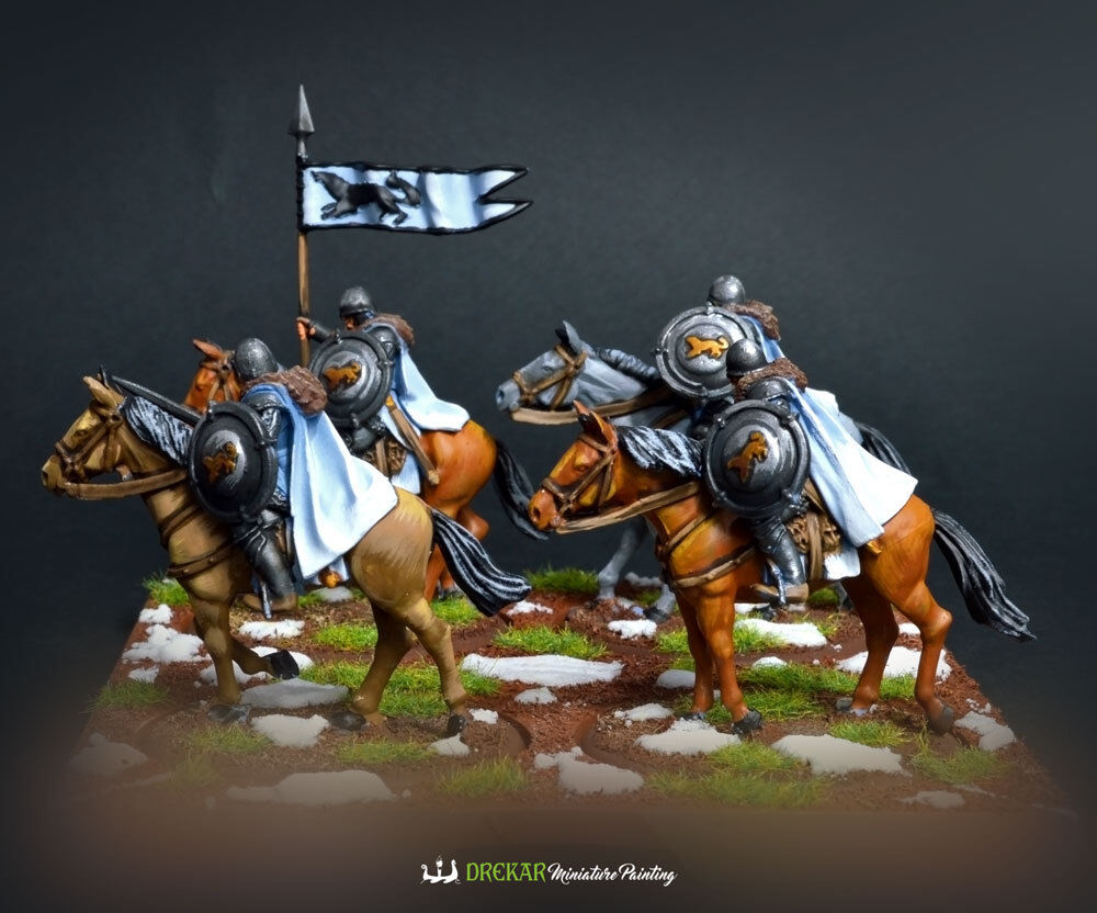 Stark Outriders - A Song of Ice and Fire  COMMISSION  painting