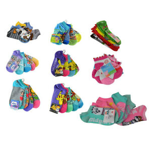 a677ae845f6 Kids Boys Girls No Show Socks Size 4-6   6-8   9-11 Shoes 7-10