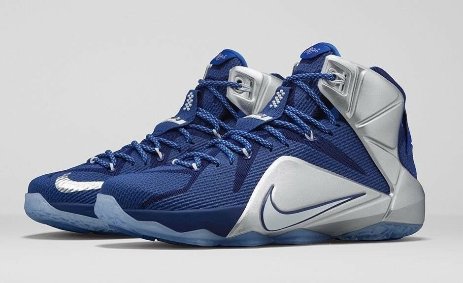 Nike LeBron 12 XII What If Dallas Royal bluee Luka Doncic Size 9