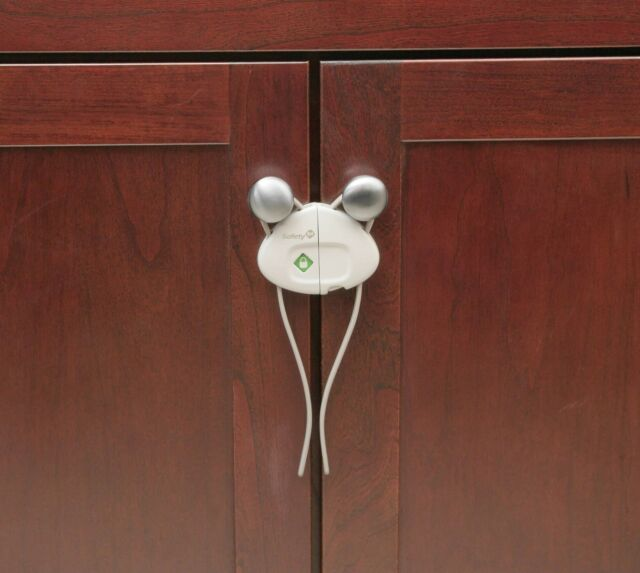 SIDE BY SIDE CUPBOARD CHILD PROOF LOCKS BY SAFETY 1ST