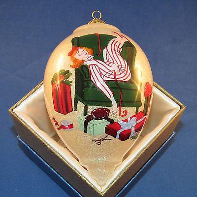 Pier 1 Imports - 2015 - Li Bien Ornament - Christmas Wrap It Girl - NEW
