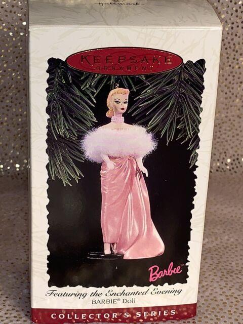 1996 Hallmark Barbie Enchanted Evening Ornament Dated NIB NEW