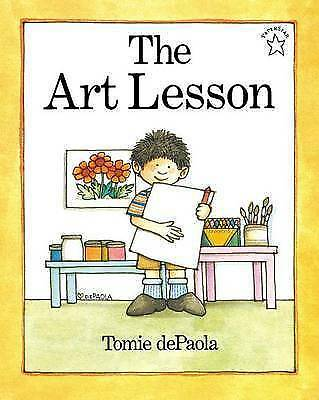 1 of 1 - The Art Lesson (Paperstar Book)-ExLibrary