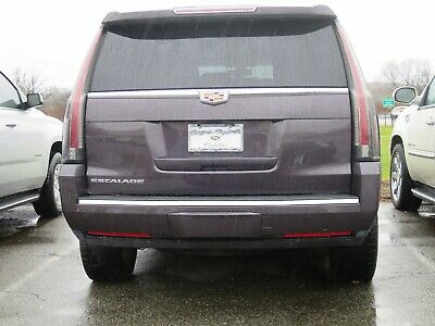 REAR BUMPER TRIM MOLDING CHROME WILL FIT 2015-2020 CADILLAC ESCALADE