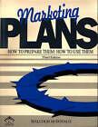 Marketing Plans by Malcolm McDonald (Paperback, 1995)