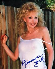 OFFICIAL WEBSITE Francine York (1938-2017) Glamour Photo 8x10 AUTOGRAPHED