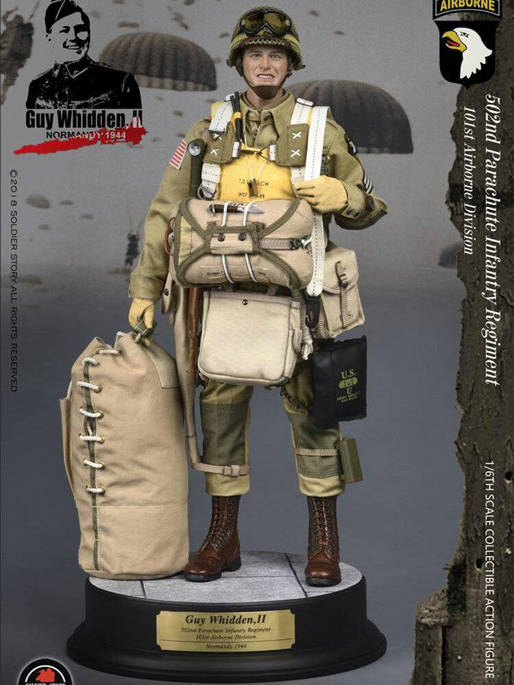 moda Po soldado Story 1 6 6 6 Segunda Guerra Mundial 101ST Airborne Division  Guy whidden, II   nuevo sádico