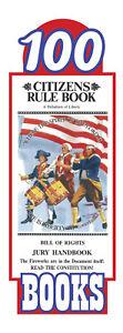 Original-Citizens-Rule-Book-Bill-of-Rights-Jury-Handbook-Pocket-Sized-100-pack