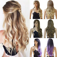 Fashion Women Cosplay Costume Party Full Wig Long Wave Straight Synthetic Wigs