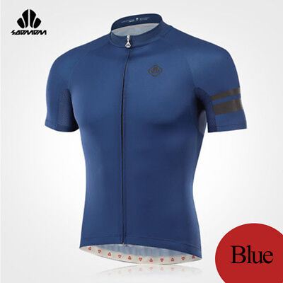 LANCE SOBIKE Summer Cycling T-shirt Sports Short Sleeves Jersey 5 Colors