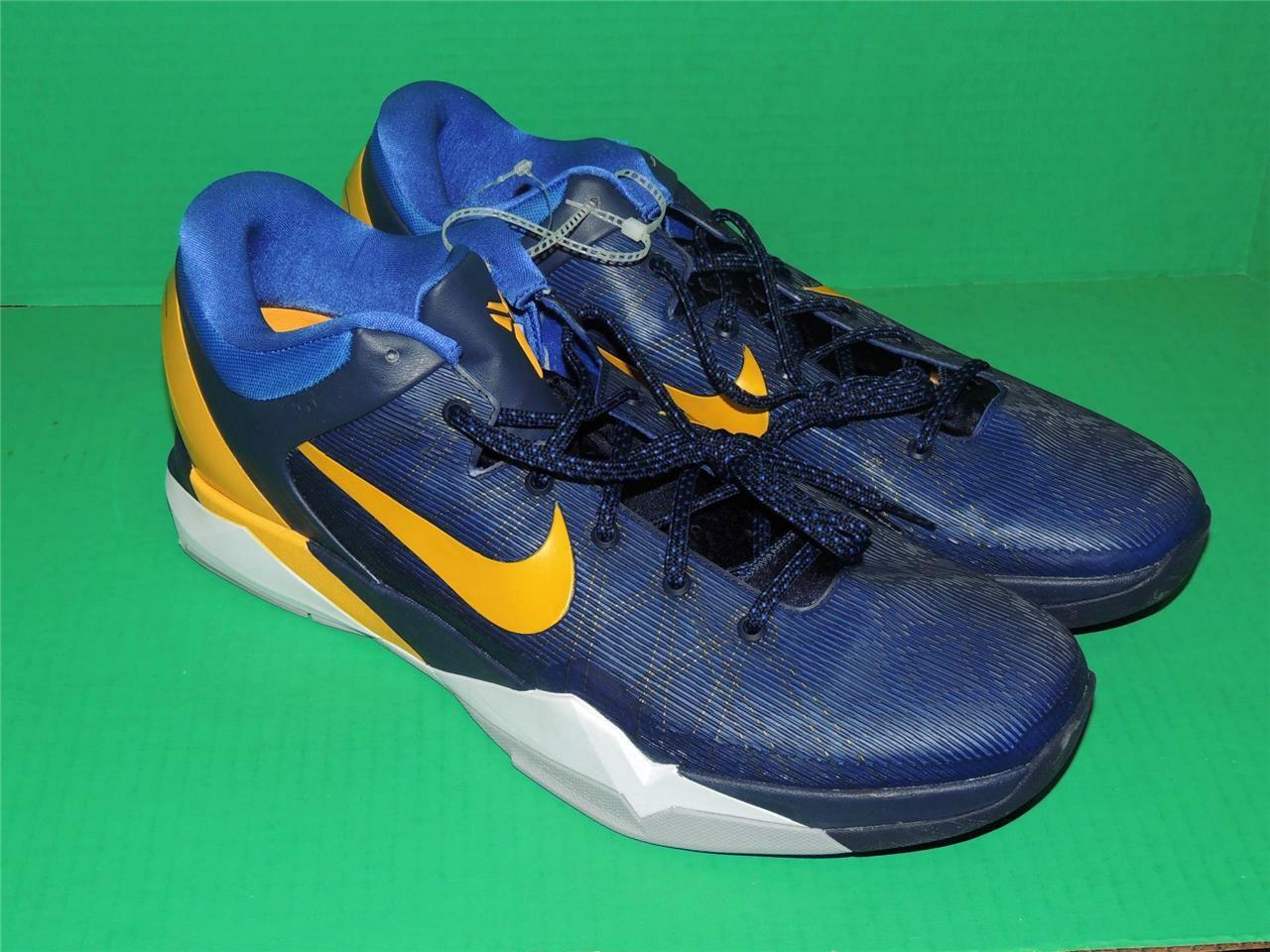 Nike Zoom Kobe VII System 7 Entourage Blue 488371 404  NEW!! New Authentic! RARE  New shoes for men and women, limited time discount