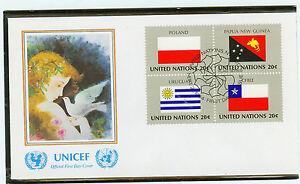 Adaptable Clubs Nations Fdc Enveloppe 1984 Drapeaux Mi. - Nº 452-55-afficher Le Titre D'origine