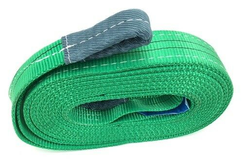 Tow Rope Car Van Trucks Recovery Strap 2000kg 2 Tonne Tow Strap x 8 Metres