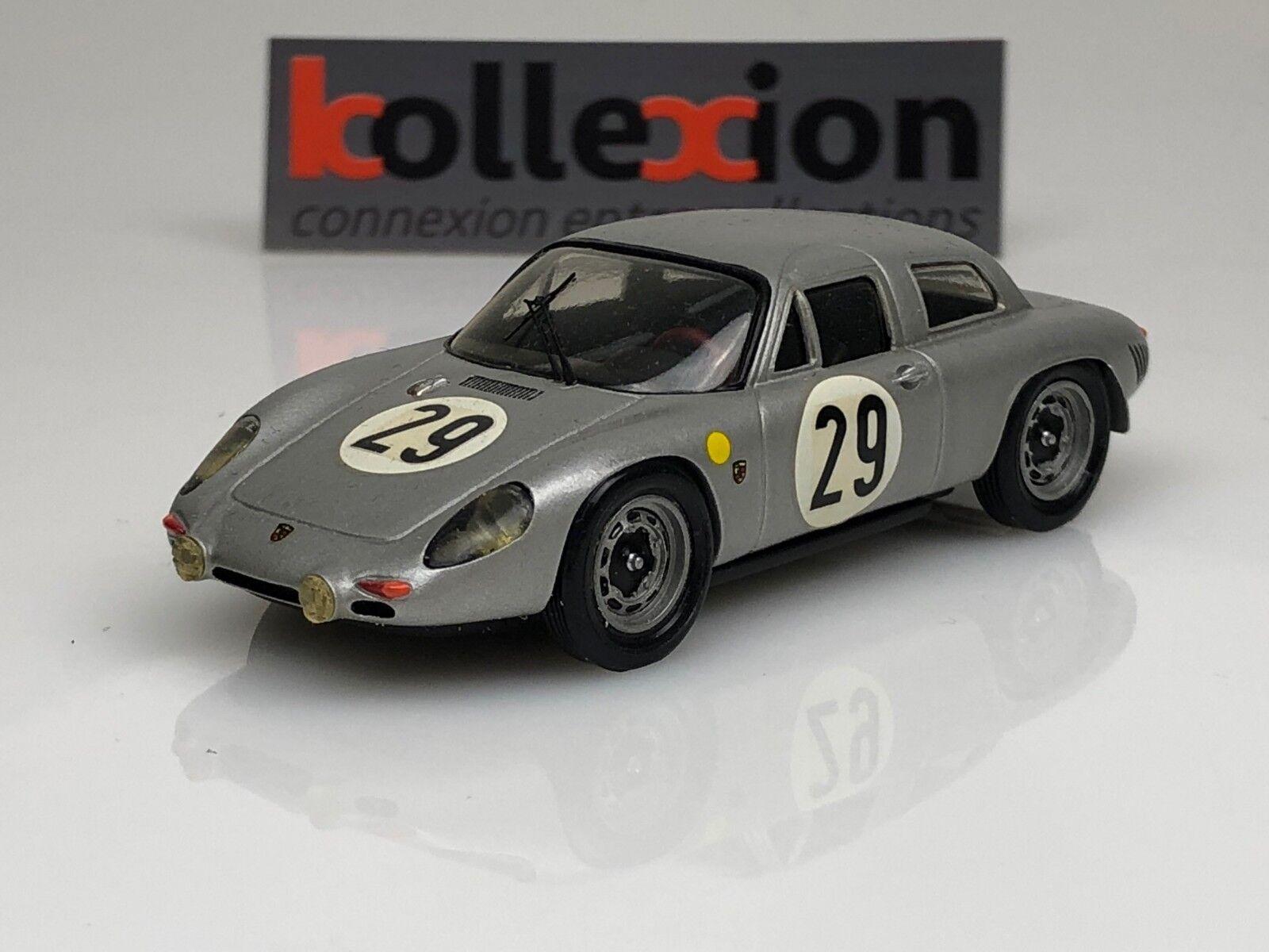 STARTER PORSCHE 2000 GS n 29 Le Mans 1963 G. Koch - CG de Beaufort 1.43