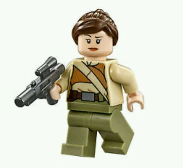 LEGO Star Wars Resistance Soldier male Minifigure First Order TFA Tan Suit /& gun