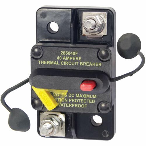 Blue Sea 7182 Thermal Circuit Breaker 285 Series 40 Amp