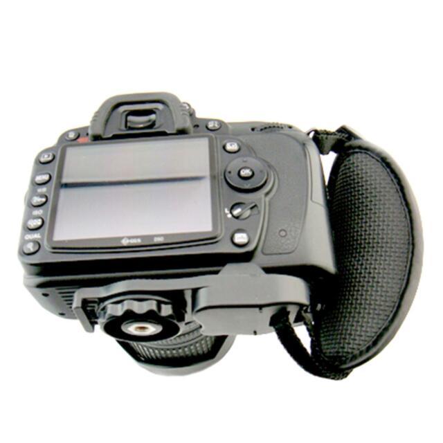Camera Hand Grip Neoprene-Padded Wrist Strap For Tripod DSLR Camera Adjustable