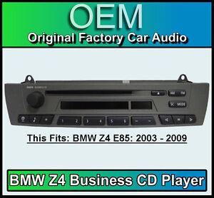 bmw z4 lecteur cd bmw affaire autoradio bmw e85 ensemble radio ebay. Black Bedroom Furniture Sets. Home Design Ideas