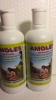 2 Pk Amoles Shampoo With Keratina Protein 19.55 Fl Oz Each Made In Mexico