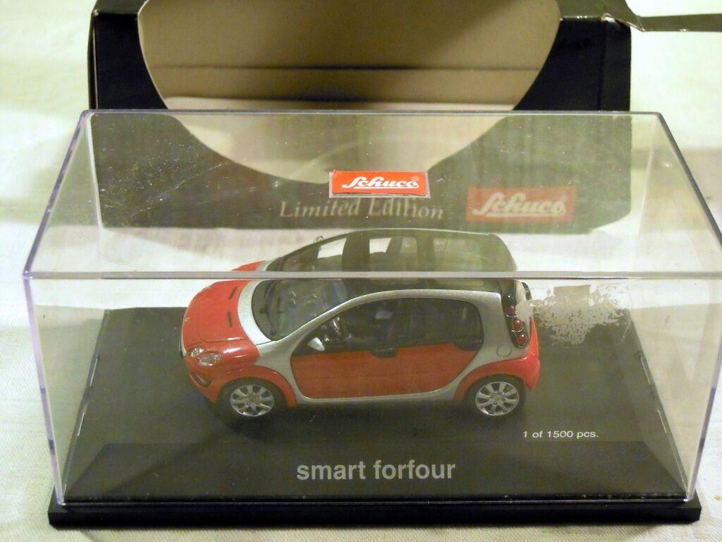 Schuco 04692  Smart Fourfour, Fourfour, Fourfour, limitierte Edition 1 43, NEU & OVP 8124d2