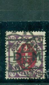 Danzig-D-auf-Wappen-Nr-D-14-gestempelt-Inflageprueft