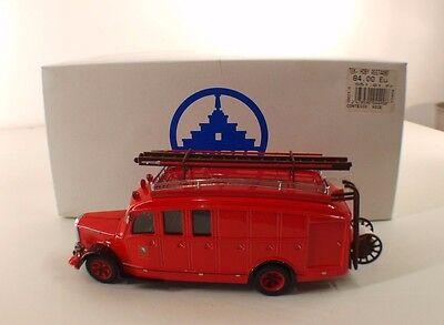 Modellbau Auto- & Verkehrsmodelle Tek-hoby Th5322 Lastwagen Saurer 3ct1d Feuerwehr Zürich 1/43 Neu Schachtel KöStlich Im Geschmack