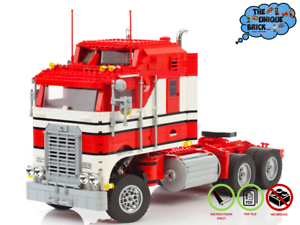 1978er-Kenworth-Truck-PDF-Bauanleitung-Kompatibel-zu-LEGO