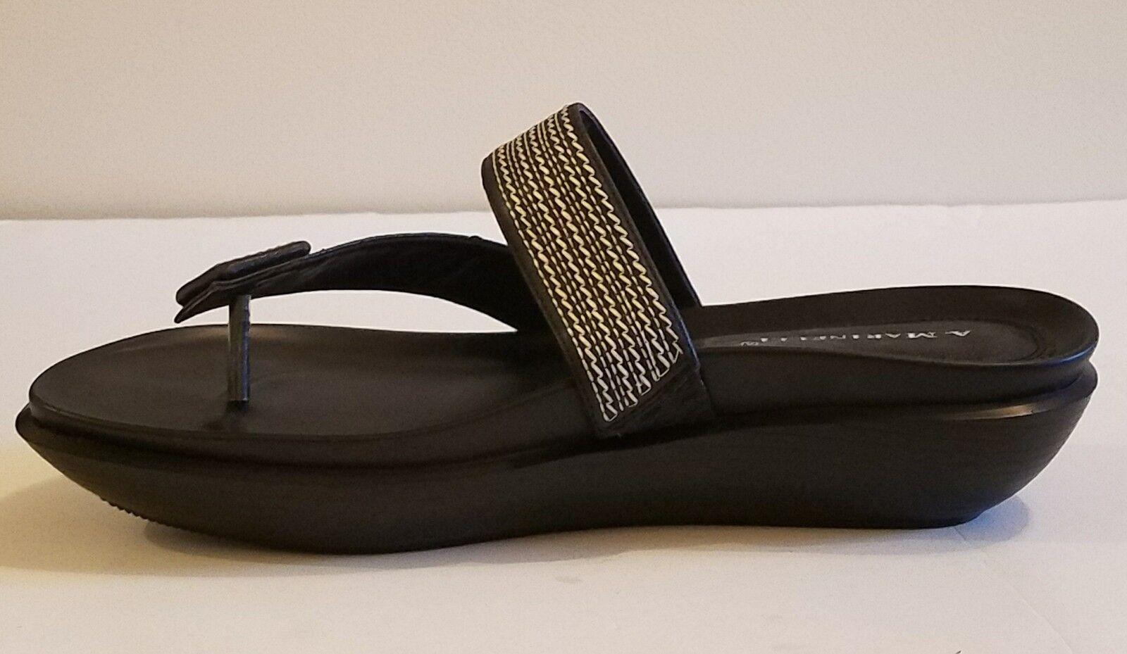 NWB A. Marinelli Ladies'  Open toe  Sandals scarpe sz 10m