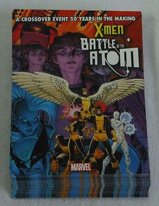 Dealer-039-s-Lot-OF-43-comic-promo-cards-2013-Marvel-X-MEN-BATTLE-OF-THE-ATOM