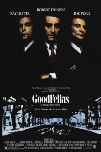 GOODFELLAS Movie Poster Robert DeNiro Gangster Mob Mafia Sopranos 24X32 Inch 01