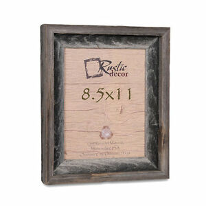 85x11 2 Wide Signature Reclaimed Rustic Barn Wood Picture Frame