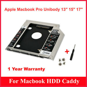 Storite-New-2nd-Hard-Drive-Caddy-9-5MM-for-Apple-Unibody-MacBook-Pro-13-15-17
