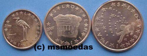 Slowenien 125 Euro Cent Münzen Prägejahr 2007 Euromünzen Coins