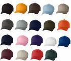 12 Classic Flexfit Blank Baseball Cap6277 Hat Wholesale Bulk Lot All Colors New!