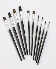 10 PC Harris Performance detalle fino artista Pintura Cepillo Conjunto Pintura (E3C) # E