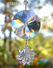 Starflower Prism Rainbow Suncatcher m/w Tiny Swarovski Star Lilli Heart Designs