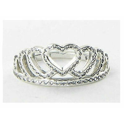 GENUINE PANDORA Hearts Tiara Ring 190958CZ FREE DELIVERY