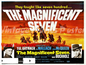 The-Magnificent-Seven-1960-Repro-Reproduction-Print