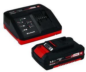 Einhell-POWER-X-Change-Batteria-e-Caricatore-Starter-Kit-con-1-x-2-a-Li-ion-18