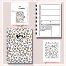 a6 diet diary food tracker journal 7wk log handy easy plan goal club