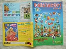 ALBUM FIGURINE PANINI  CALCIATORI 1978-79   VUOTO  OTTIME CONDIZIONI