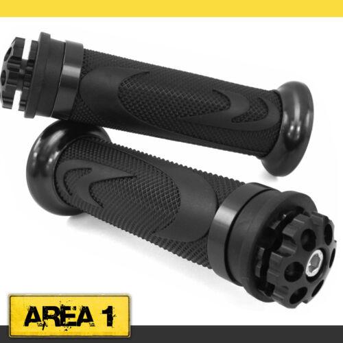 Universal Motorrad Lenkergriffe Griffgummis 22//24-25mm RS1//Schwarz