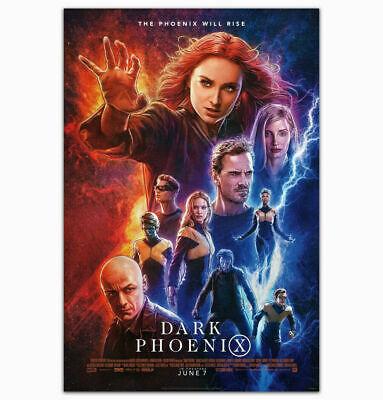 X-Men Dark Phoenix 2018 Movie Film Superhero Art Room Decor Poster 12x18 A336