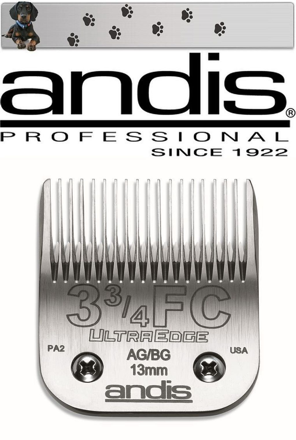 Andis Ultra Edge Shaving Head 3 3 4f 13 mm Aesculap - Moser - Choice - Oster NEW