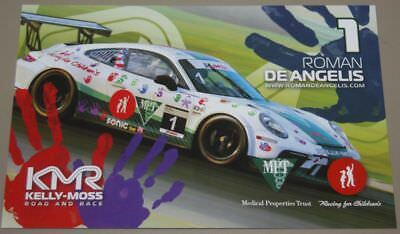 2014 Kelly Moss Motorsports Porsche 911 IMSA GT3 Cup postcard